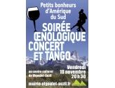 Soirée œnologique et concert tango