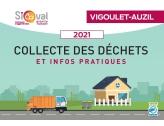 Sicoval : Collecte déchets 2021 calendrier et guide