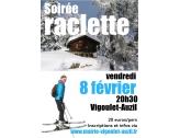 Soirée Raclette le 8 février centre culturel