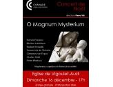 Concert le 16 décembre à 17h à l'Eglise