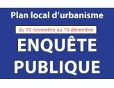 Rapport du Commissaire Enquêteur, suite à l'ENQUETE PUBLIQUE sur le projet de PLU