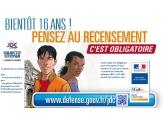 Bientôt 16 ans ! Pensez au recensement obligatoire.