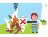 RAPPEL : Interdiction brûlage déchets verts